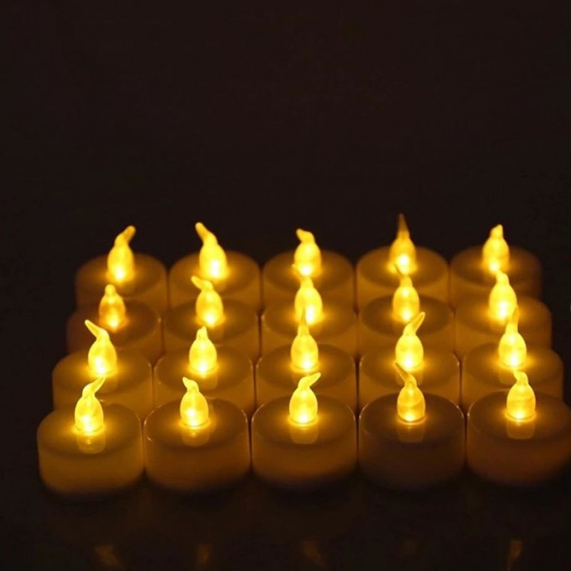 Small Candles 24 Pieces Set