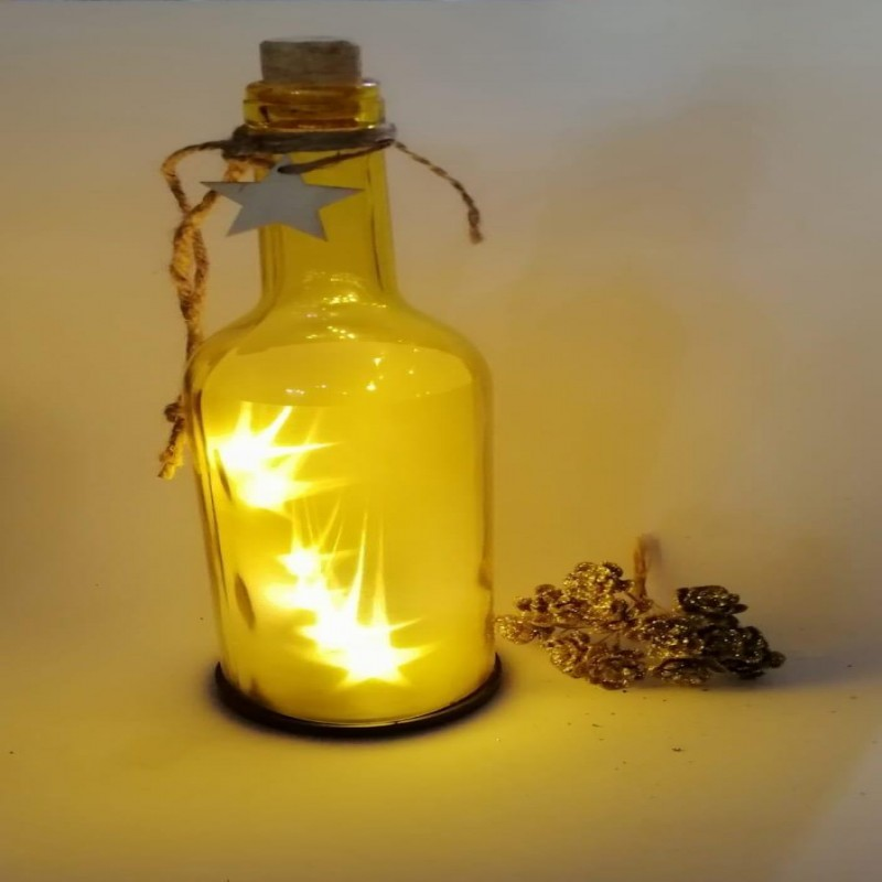 Star Led Bottle