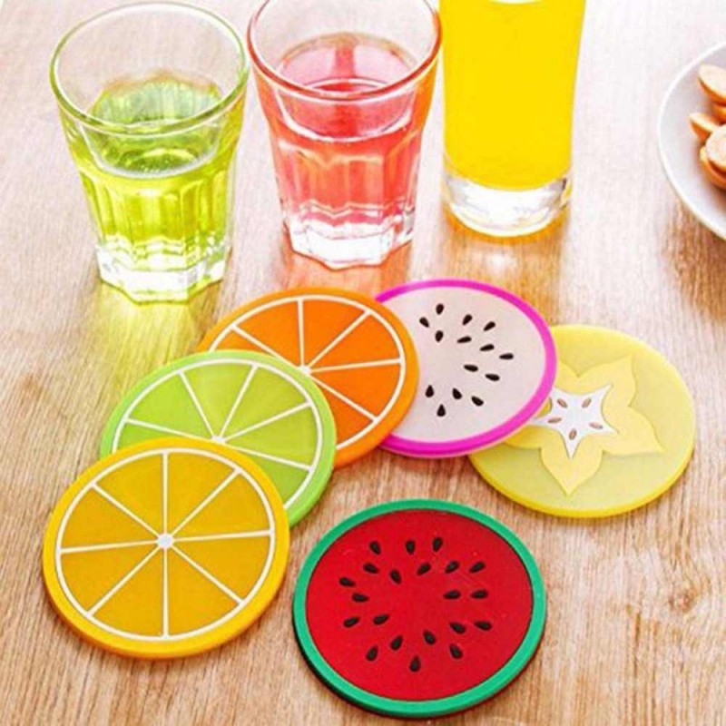 Silicone Tea Mats (6 Pieces)