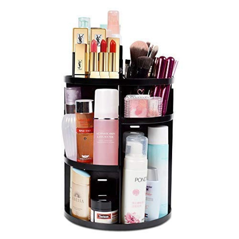 COLORED 360 Degree Rotation Makeup Organizer
