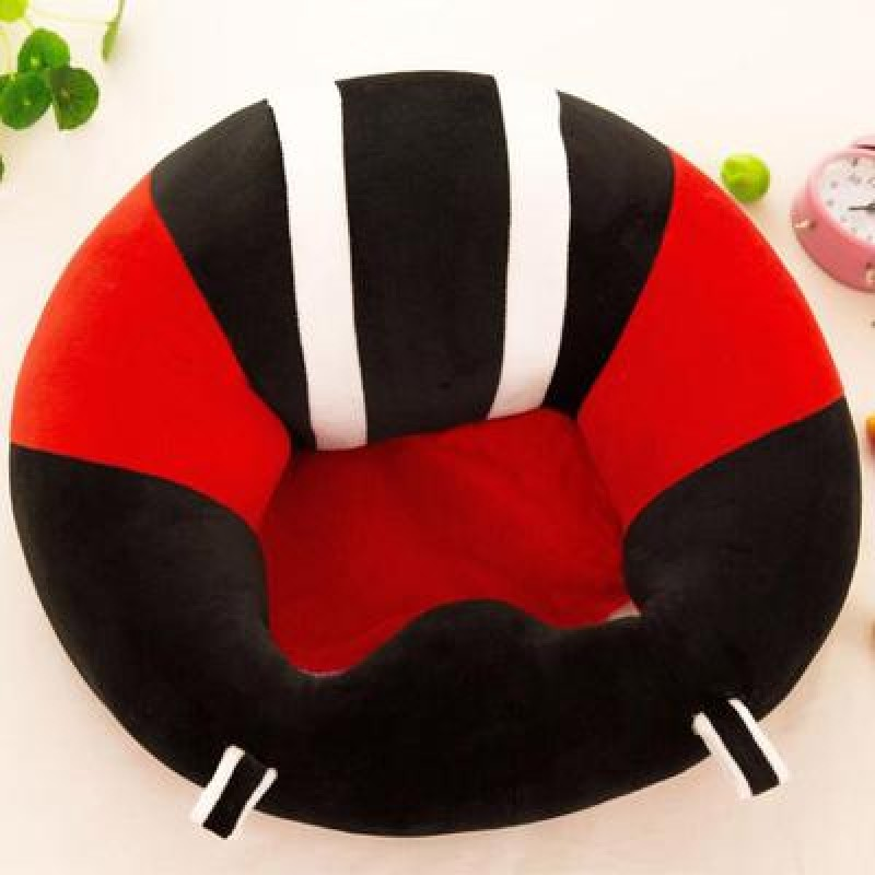 Baby Support Seat Plush Soft Baby Sofa Red