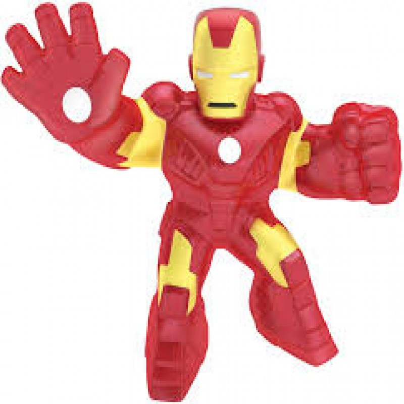 Heroes of Goo Jit Zu Licensed Marvel Hero Pack - Iron Man, Multicolor