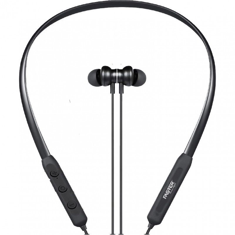 FASTER FBT-90N Wireless Sports Earphone Neckband with HD Sound