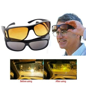 HD Vision Glasses Day and Night View