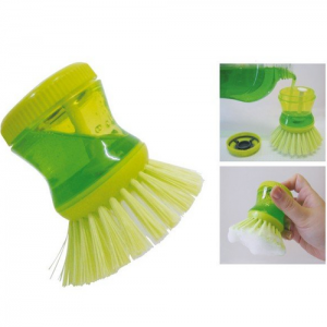 Soap Dispensing Dish Washing Brush (No Stand Available)