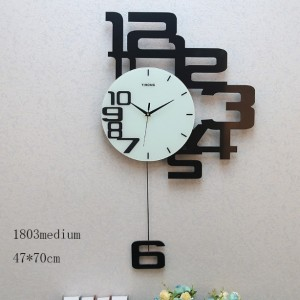 Right Side Numbers Wall Clock (1803medium)