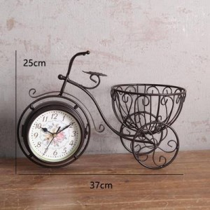 Basket Cycle Clock