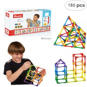 3D Puzzle Magnetic Building Construction 180 pcs
