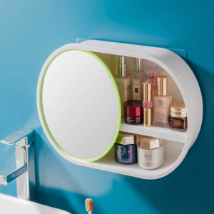 Organizer With Sliding Mirror